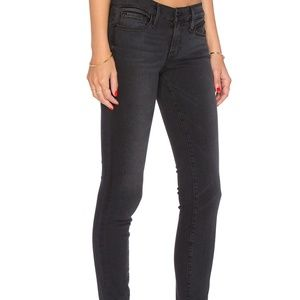 Frame Denim Jeans - FRAME DENIM SKINNY JEANS KNIGHTRIDER DARK GRAY 28